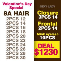 8a hair VALENTINE DAY DEAL