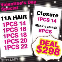 11A Valentine day deal