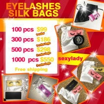 Eyelashes silk bags