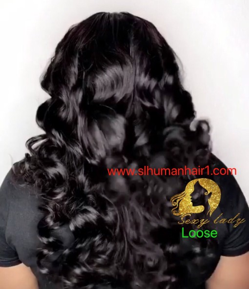 Raw Indian Hair Loose wave