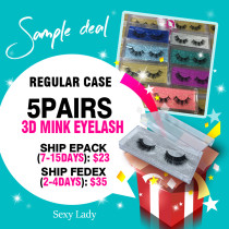 Mink 3D eyelashes Sample Deal !!!
