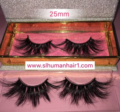 Sliver Glitter Box Queen /mink eyelash