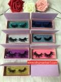 Pink Glitter Box Queen /Mink eyelashes
