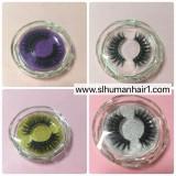 Diamond circle case Queen/mink eyelash