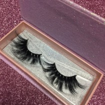 Pink Glitter Box Queen /Mink eyelashes