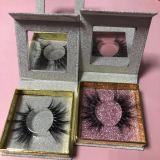 Square glitter box mink eyelashes