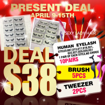 Human lashes Present DEAL