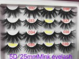 20 pairs Queen  mink eyelashes sample deal