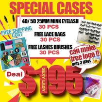 Free logo labels 25MM lashes deal for special box