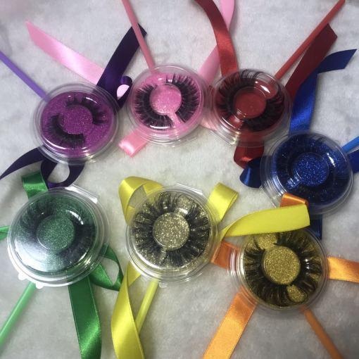 Lollipop 3D 4D 5D/25mm mink lashes