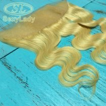 613# lace frontal body wave