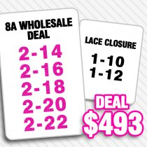 8A HAIR WHOLESALE DEAL