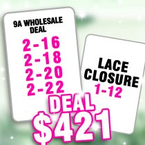 9A hair wholesale deal