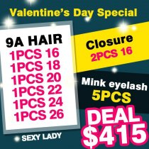 9a hair VALENTINE DAY DEAL