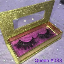 Golden Glitter box Lashes