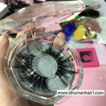 Diamond circle case Queen/mink eyelash