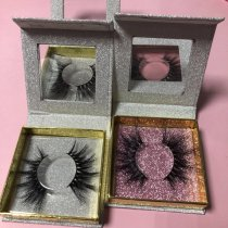 Sliver Square box Queen /mink eyelash