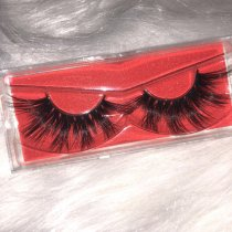 25mm Queen mink eyelashes Sample Order