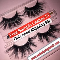 Free Lashes SAMPLES shipping fee $9