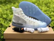 Off White X Conversace High Shoes