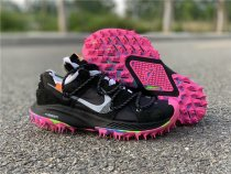 Off White X Nike Zoom Terra Kiger 5 Black