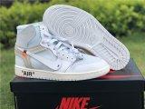 Off White X Air Jordan 1 Retro White
