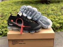 Off White X Nike Vapormax Black