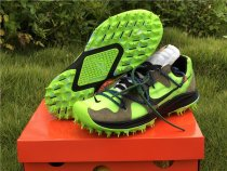 Off White X Nike Zoom Terra Kiger 5 Electric Green