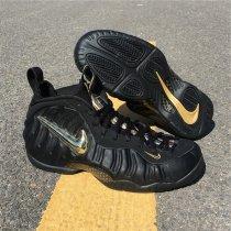 "Nike Air Foamposite Pro ""Black / Metallic Gold"""