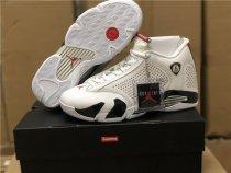 Air Jordan 14 Retro Supreme White