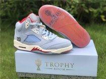 Air Jordan 5 Retro X Trophy Room Ice Blue