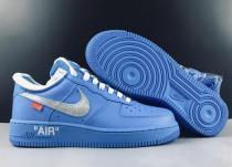 Off White X Nike Air Force One MCA Blue
