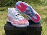 "Air Jordan 11 High ""Pink Snakeskin"""