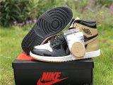 Air Jordan 1 Black Gold Top 3