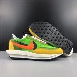 Sacai X Nike LVD Waffle Daybreak Yellow Green