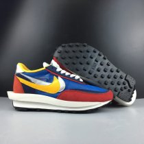 Sacai X Nike LVD Waffle Daybreak Red Blue