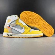 Air Jordan 1 Retro X Off White Yellow
