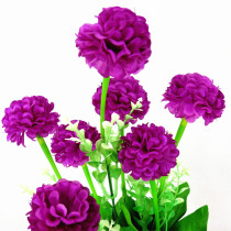 a Bunch of Artificial Flowers Simulation French Marigold Tagetes for Home Bonsai Decoration Nice Silk Flowers Bouquet