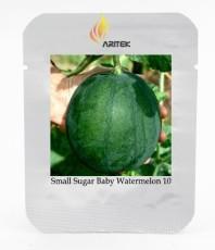Organic Heirloom Small Sugar Baby Watermelon Citrullus Lanatus Seeds, Professional Pack, 10 Seeds / Pack Juicy Sweet E3340