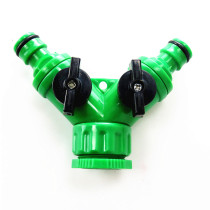 1/2'' 3/4'' Female Adjustable Plastic Quick Fitting for Water Y type Connector Quick Coupling Drip Irrigation System Adapter