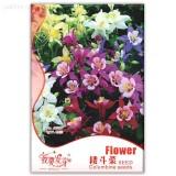 Mixed Garden Columbine Perennial Aquilegia Flowers, Original Pack, 50 Seeds, very beautiful garden flowers IWSB128