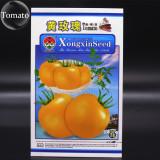 Rare Yellow Rose Tomato Middle-sized Fruit Seeds, Original Pack, 300 Seeds, Tasty Sweet Juicy Slippy Skin Fruit