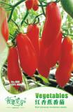 Original Pack, 20 Seeds / Pack, Red Banana Tomato Seed Organic Heirloom Vegetables #NF478