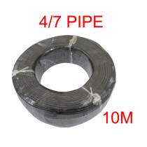 MUCIAKIE 50M 4/7mm Greenhouse Garden Water PVC Hose 1/4'' Irrigation Watering Tubing Pipe Fittings Micro Drip Accessories
