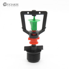 MUCIAKIE 5PCS 1/2 IN Threaded 360 Degrees Rotating Nozzle Garden Irrigation Rotate Spay Sprinklers Automatic Lawn Irrigation