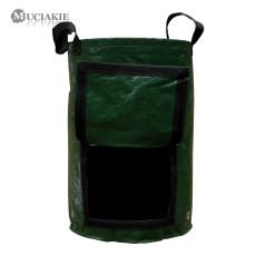 MUCIAKIE 1PC PE Fabric Potato Tomato Grow Planting Bags Home Garden Grow Bags for Vegetables Flowers Cultivation Gardening