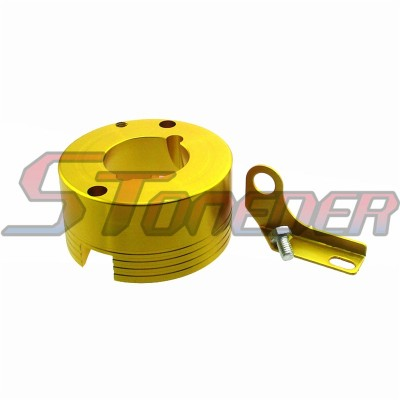 STONEDER tendicatena Slider Rullo per ATV Go Kart 110/ 250/ 420/ 428/ 530/ CC con Catena