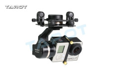 Tarot TL3T01 Update from T4-3D 3D Metal 3-axis Brushless Gimbal for GOPRO GOPRO4/GOpro3+/Gopro3 FPV Photography