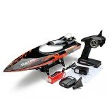 Exclusive Newest Larger FT010 RC Boat in 35KM/H Remote Control Speed Boat Water Cooling System