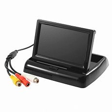 Generic 4.3 Inch FPV Professional Mini LCD Monitor Video Screen Device NTSC/PAL for Rc Airplane Multicopter Car Color Bl